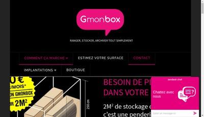 Site internet de Gost Storage