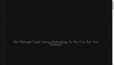 Capture d'écran du site de KMC