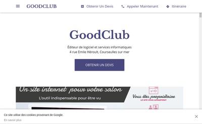Site internet de Goodclub