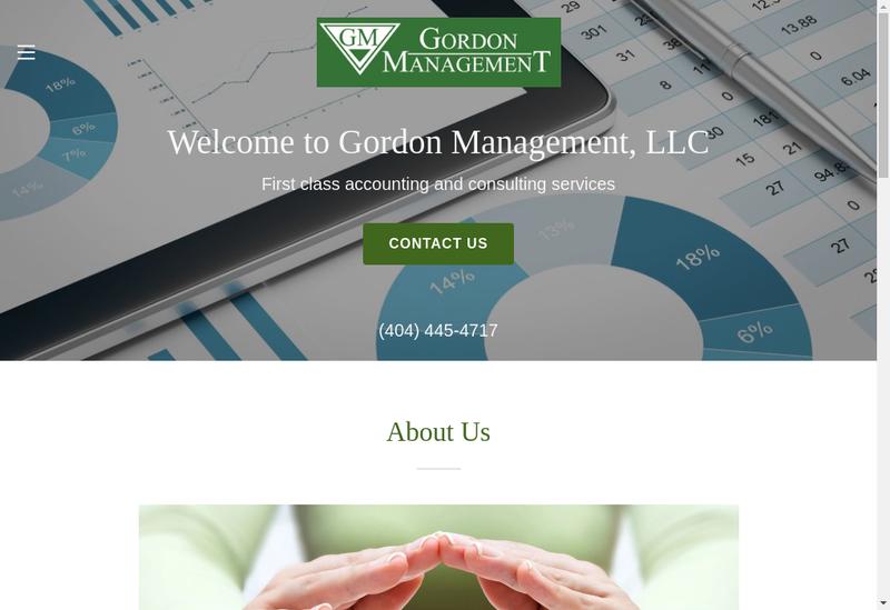Capture d'écran du site de Godon Management