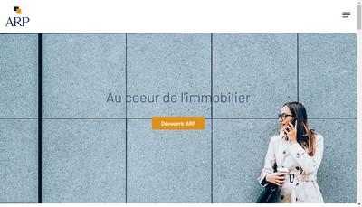 Site internet de Arp