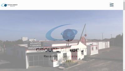 Site internet de Ressorts Gerbout Martin et Prunier la Boudinette STRS Paris Chaines