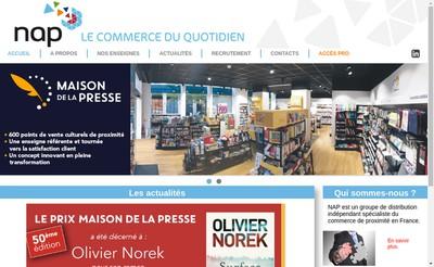 Site internet de Nap Investissement