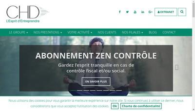 Site internet de Chd Audit Hauts de France