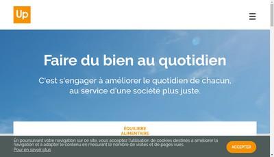 Site internet de Cheque Cadhoc-Rev&Sens-Cheque Domicilie-Up-Lecheque Dejeuner