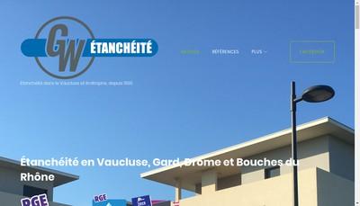 Site internet de Gw Etancheite