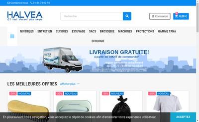 Site internet de Halvea