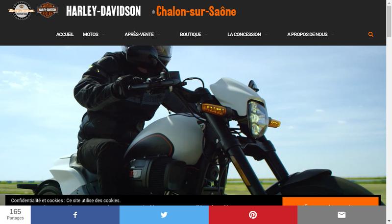 Capture d'écran du site de Central Twin Avenue