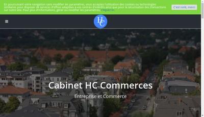 Site internet de Hc Commerces