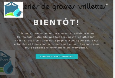 Site internet de Home Traitements