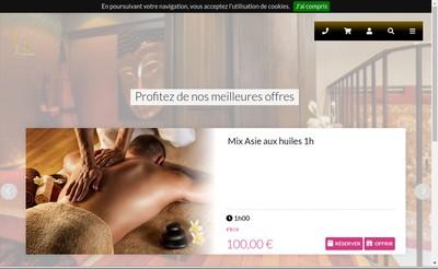 Site internet de Houda Spa