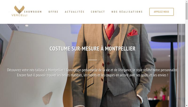 Capture d'écran du site de Conseil Vercelli