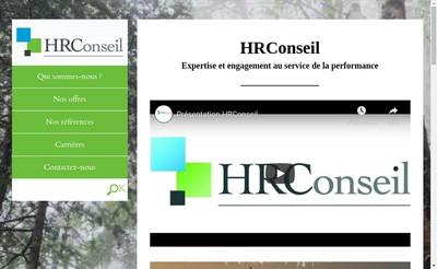 Site internet de Hr Conseil