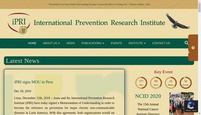 Site internet de Ipri Management
