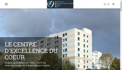 Site internet de RCF - ICPS
