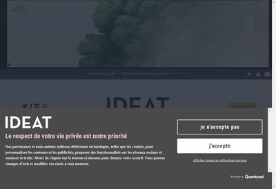 Site internet de Ideat