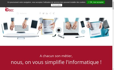 Site internet de Ideez