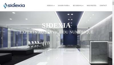 Site internet de Sidexia