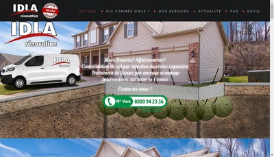 Site internet de Idla Solutions
