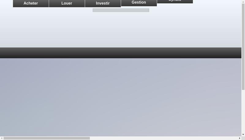 Capture d'écran du site de Cabinet Pierre Conti