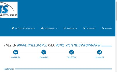 Site internet de Ims Partners