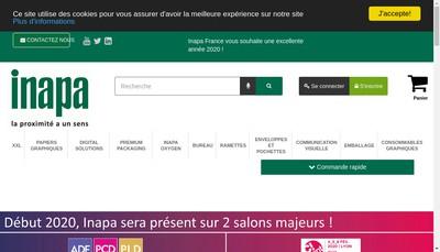 Site internet de Inapa France