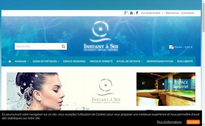 Site internet de Instant a Soi