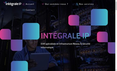 Site internet de Integrale Ip