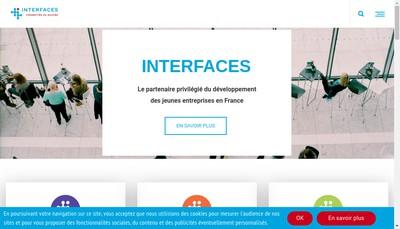 Site internet de Societe Interfaces