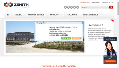 Site internet de Andesol