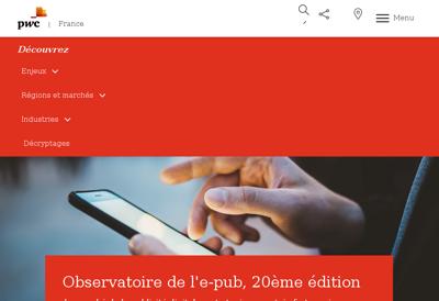 Capture d'écran du site de Irienet