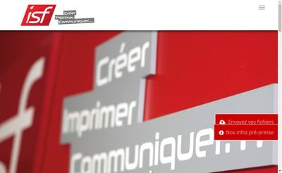 Site internet de Isf Creer Imprimer Communiquer