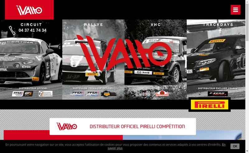 Capture d'écran du site de Ivalto