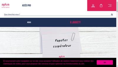 Site internet de Societe Jarrety