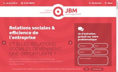 Site internet de Jbm-Management