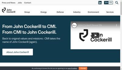 Site internet de Cmi Muon