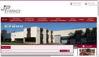 Site internet de Jp France Machines-Outils