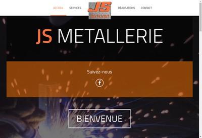 Site internet de Js Metallerie Chaudronnerie
