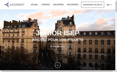Site internet de Junior ISEP