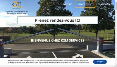 Site internet de K2M Services-K2M Distributions
