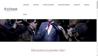 Site internet de Kaibee