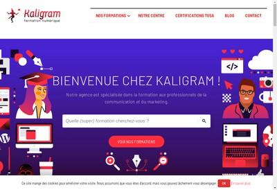 Site internet de Kaligram'
