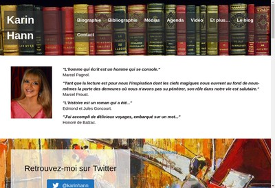 Site internet de Karin Hann