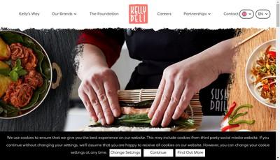 Site internet de Kellydeli