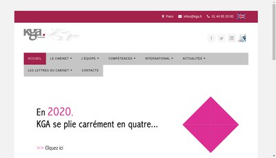 Site internet de Kga