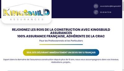 Site internet de Kingsbuild Assurances