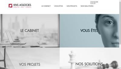 Site internet de Kns Associes