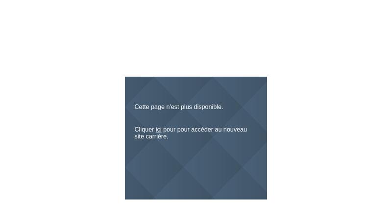 Capture d'écran du site de Krys Group Services