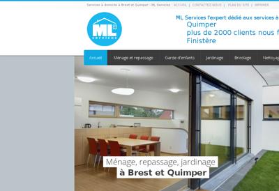 Capture d'écran du site de La Belle Assiette