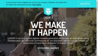 Site internet de L'Agent X